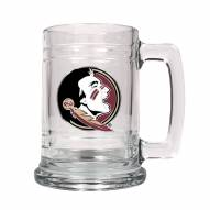 Florida State Seminoles College Glass Tankard Beer Mug 2-Piece Set