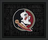 Florida State Seminoles College Word Cloud