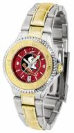Florida State Seminoles Competitor Two-Tone AnoChrome Women's Watch