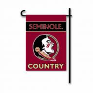 Florida State Seminoles Country Garden Flag