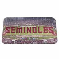Florida State Seminoles Crystal Mirror License Plate