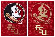 Florida State Seminoles Double Sided Glitter Garden Flag