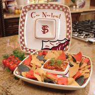 Florida State Seminoles Gameday Chip N Dip Dish
