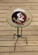 Florida State Seminoles Glass Bird Bath