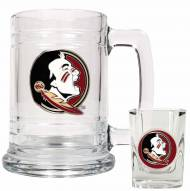 Florida State Seminoles Glass Mug & Shot Glass Set