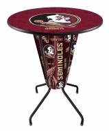 Florida State Seminoles Indoor/Outdoor Lighted Pub Table