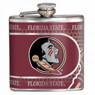Florida State Seminoles Hi-Def Stainless Steel Flask