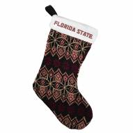 Florida State Seminoles Knit Christmas Stocking
