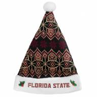 Florida State Seminoles Knit Santa Hat