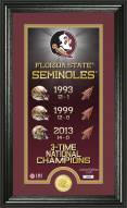 Florida State Seminoles Legacy Supreme Bronze Coin Panoramic Photo Mint