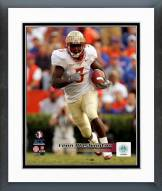 Florida State Seminoles Leon Washington Action Framed Photo