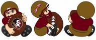 Florida State Seminoles Lil Fan Ornament