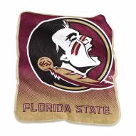 Florida State Seminoles Raschel Throw Blanket