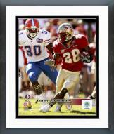 Florida State Seminoles Lorenzo Booker Action Framed Photo
