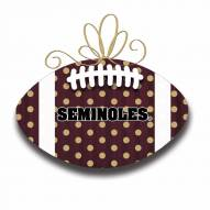 Florida State Seminoles Metal Football Door Decor