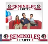 Florida State Seminoles Party Banner