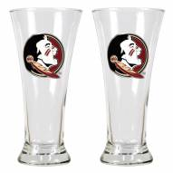 Florida State Seminoles College 2-Piece Pilsner Glass Set