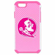 Florida State Seminoles Pink Football True Grip iPhone 6/6s Case