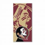 Florida State Seminoles Puzzle Beach Towel