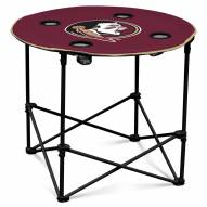Florida State Seminoles Round Folding Table