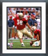 Florida State Seminoles Sebastian Janikowski 1999 Action Framed Photo