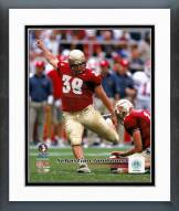 Florida State Seminoles Sebastian Janikowski Action Framed Photo