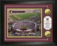 Florida State Seminoles Stadium 24KT Gold Coin Photomint