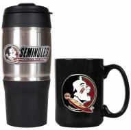 Florida State Seminoles Travel Tumbler & Coffee Mug Set
