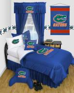 Florida Gators Jersey Comforter & Sheet Complete Bedding Set