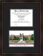 Florida State Seminoles Diplomate Framed Lithograph with Diploma Opening
