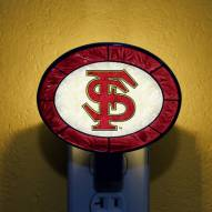 Florida State Seminoles NCAA Stained Glass Night Light