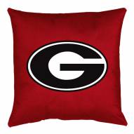 Georgia Bulldogs NCAA Locker Room Toss Pillow