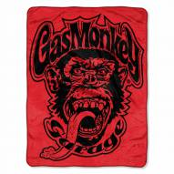 Gas Monkey Garage Micro Raschel Throw Blanket