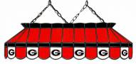 """Georgia Bulldogs 40"""" Stained Glass Pool Table Light"""