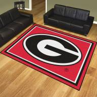 Georgia Bulldogs 8' x 10' Area Rug