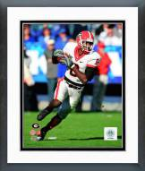 Georgia Bulldogs A.J. Green 2008 Action Framed Photo
