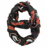 Georgia Bulldogs Alternate Sheer Infinity Scarf