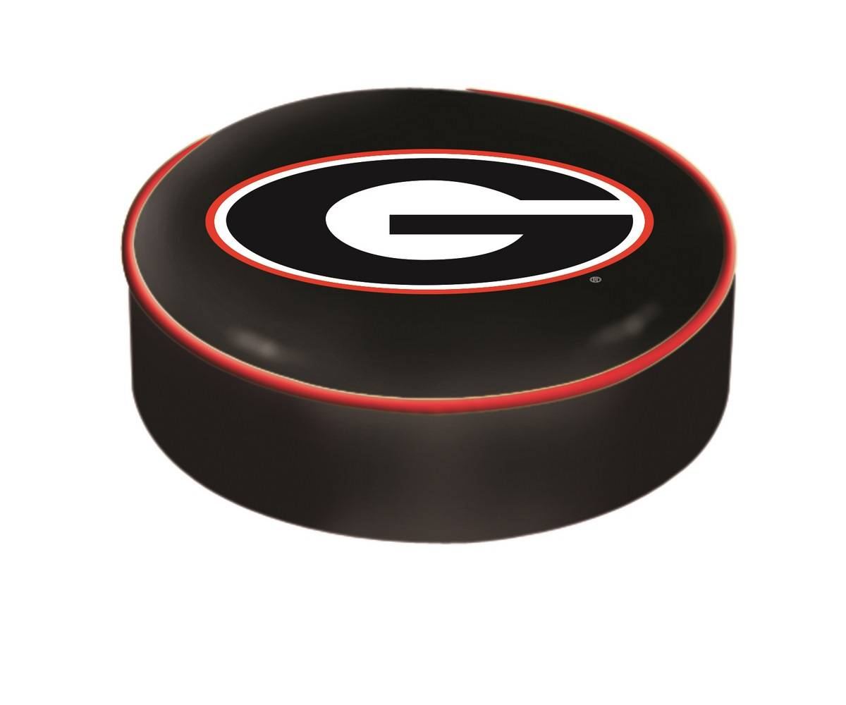Georgia Bulldogs Bar Stool Seat Cover