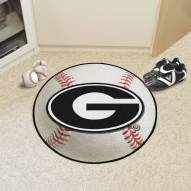 Georgia Bulldogs Baseball Rug