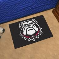 Georgia Bulldogs Black NCAA Starter Rug