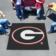Georgia Bulldogs Black Tailgate Mat