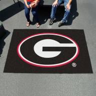 Georgia Bulldogs Black Ulti-Mat Area Rug