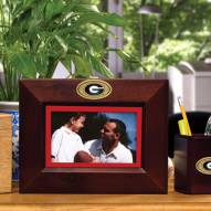Georgia Bulldogs Brown Landscape Picture Frame