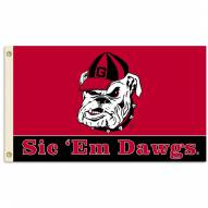 "Georgia Bulldogs ""Dawgs"" Premium 3' x 5' Flag"