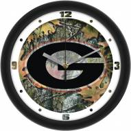 Georgia Bulldogs Camo Wall Clock