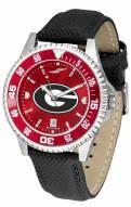 Georgia Bulldogs Competitor AnoChrome Men's Watch - Color Bezel