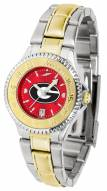 Georgia Bulldogs Competitor Two-Tone AnoChrome Women's Watch