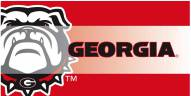 Georgia Bulldogs Decorative Door Mat