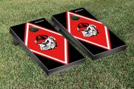 Georgia Bulldogs Diamond Cornhole Game Set