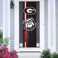 Georgia Bulldogs Door Banner